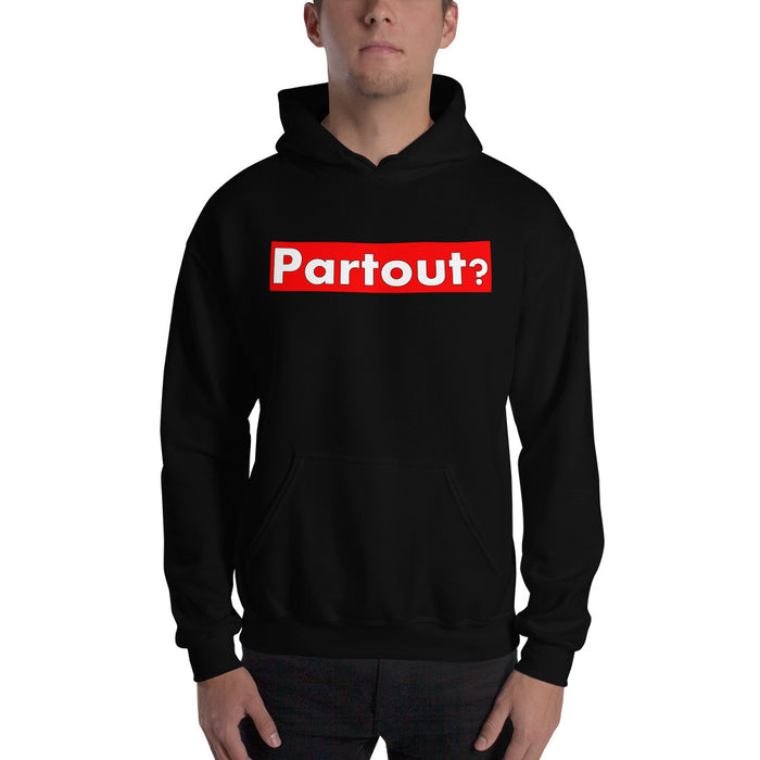 Red Partout Banner Hooded Sweatshirt