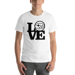 Love Subaru Short Sleeve T-Shirt