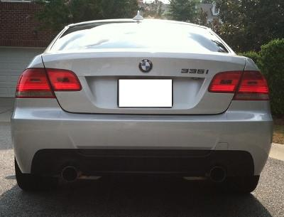 BMW E92 E93 M Tech Rear Bumper