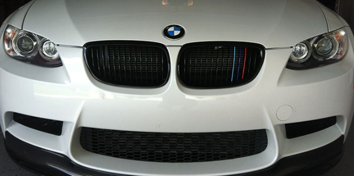 BMW E92 E93 PRE LCI M3 Grills - Gloss M Colors