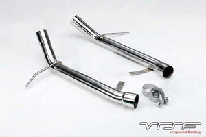 VRSF Stainless Steel Muffler Delete for 07-13 BMW 335i/335xi/335is E90/E91/E92/E93 N54 & N55