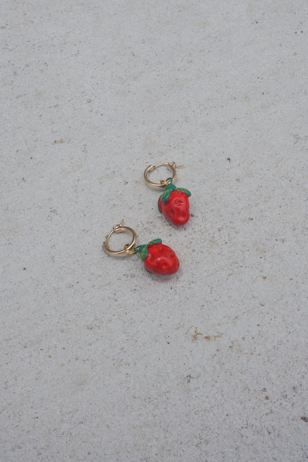 Strawb Earrings
