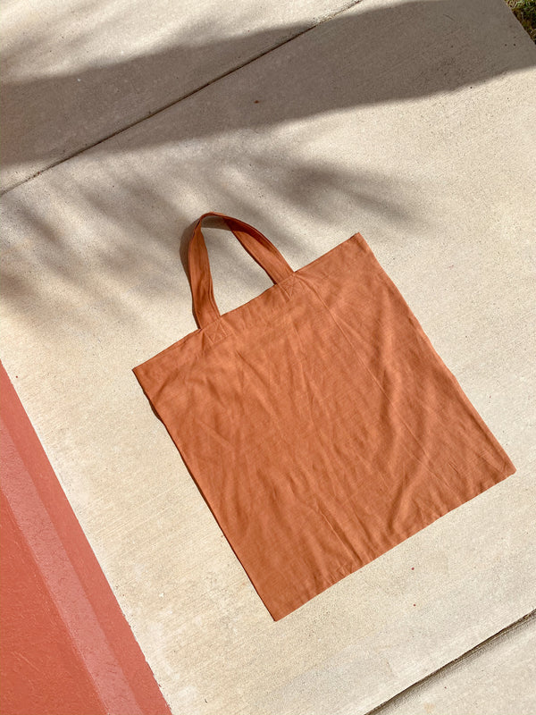 Giant Tote in Rust - new - Layne Collective- Layne Collective