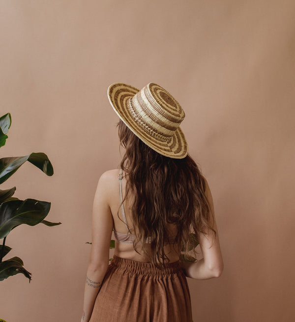 Saguaro Hat in Natural - hat - Layne Collective- Layne Collective