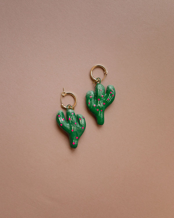 Verde Cactus Earrings -  - Layne Collective- Layne Collective