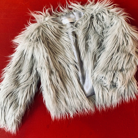 Faux Fur Crop