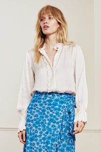 Fabienne Chapot - Bodhi Blouse In Cream/white