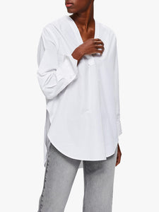 Selected Femme - Sandra White Long Sleeve Shirt