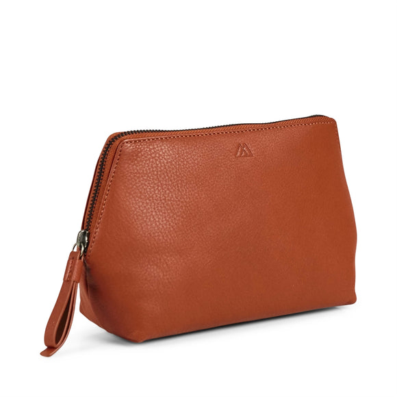 Markberg - Aloma Make-up Purse in Burnt Orange