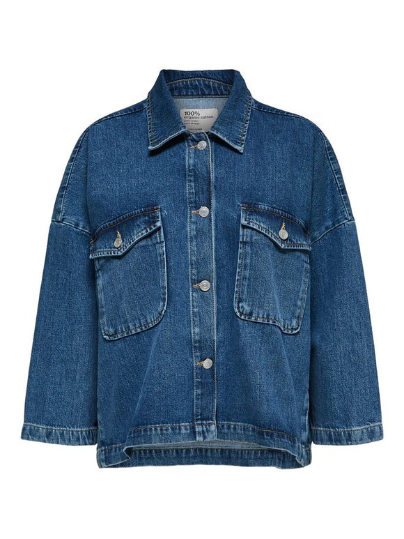 Selected Femme - Oversize Denim Jacket