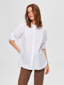 Selected Femme - Ori White Organic Cotton Shirt