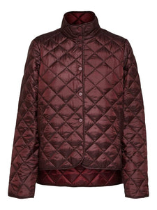 Selected Femme - Quilted Plastic Change Jacket