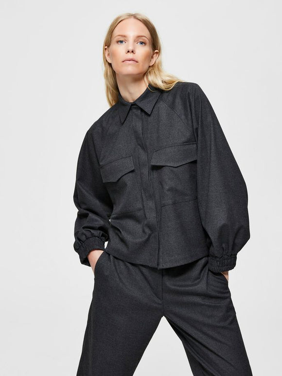 Selected Femme - Snap Button Cameron Shirt