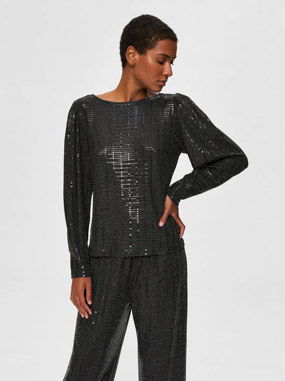Selected Femme - Sandra Sparkle Blouse