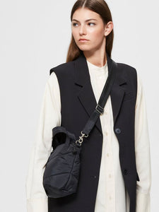 Selected Femme - Quilted Bag in Black