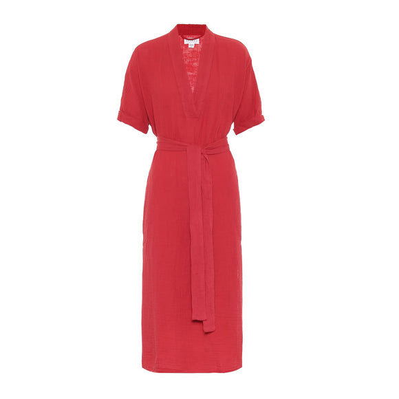 Velvet Kerry Cotton Midi Dress