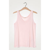 American Vintage Chipiecat Tank Top in Wild Rose Pink