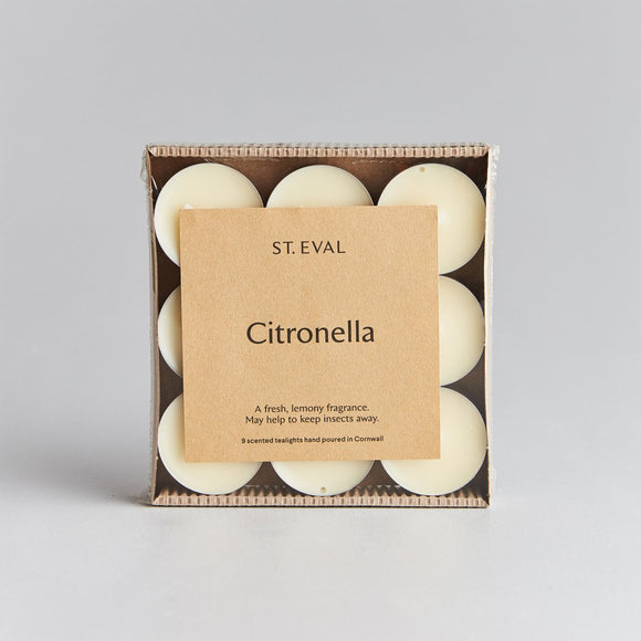 St Eval Citronella  Scented Tealight Candles