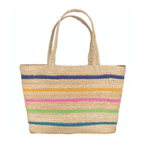 The Braided Rug Company - 100% Organic Summer Calypso Tote