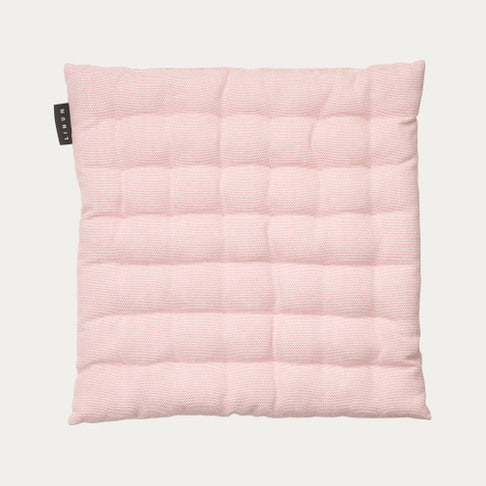 Linum Pepper - Seat Cushion in Dusty Pink