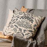 Linum - Midsummer Cushion in Charcoal Grey