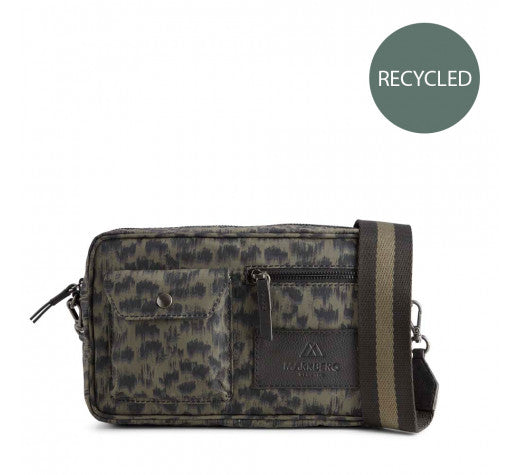 Markberg - Darla Crossbody Bag in Olive Animal Army