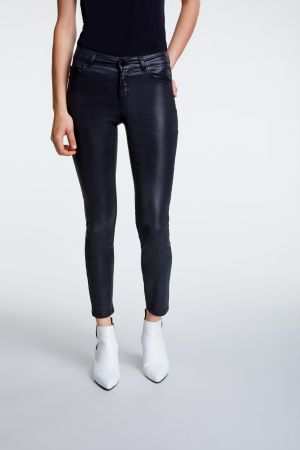 Set Fashion - Black Wax Jeans