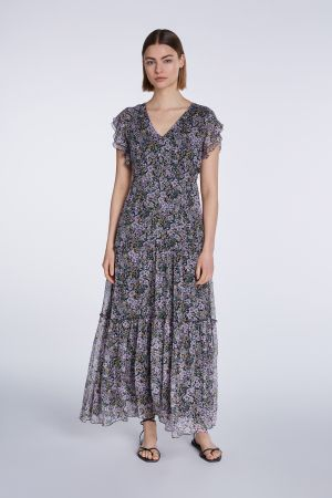 Set Fashion - Floral Printed Maxi Dress