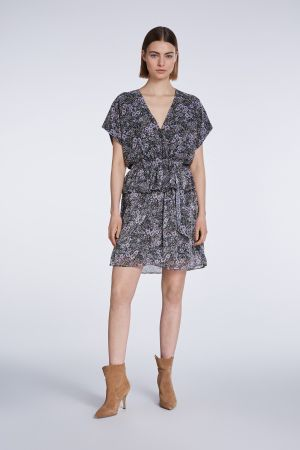 Set Fashion - Floral V-Neck Dress