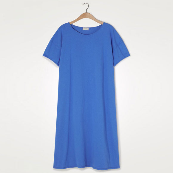 American Vintage - Ritasun Midi Dress in Azure Blue