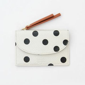 Caroline Gardner - Scattered Spot Card Holder and Coin Purse