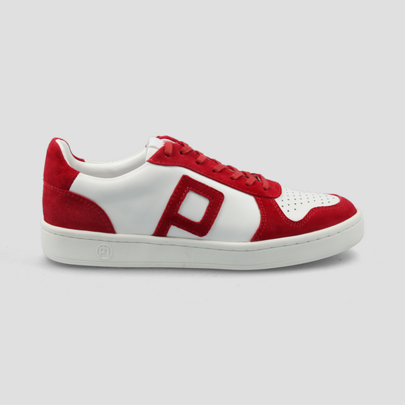 Philip Hog - Emma Trainers In White/Red
