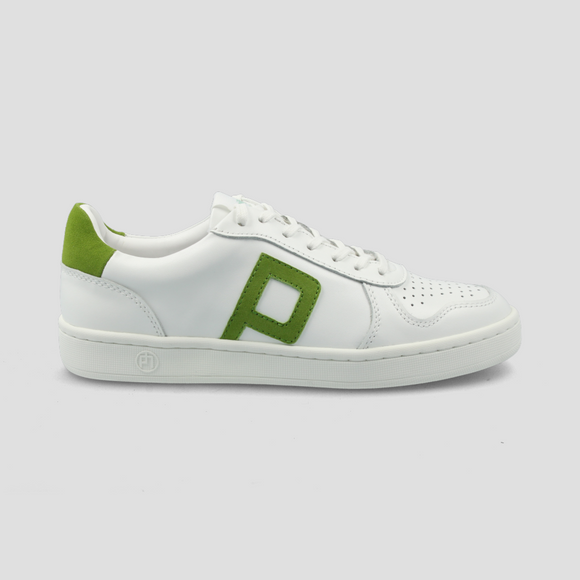 Philip Hog - Emma Trainers In White/Peridot