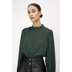 Just Female Eve Green Blouse