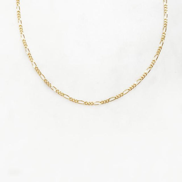 ByNouck - Figaro Chain Necklace Gold
