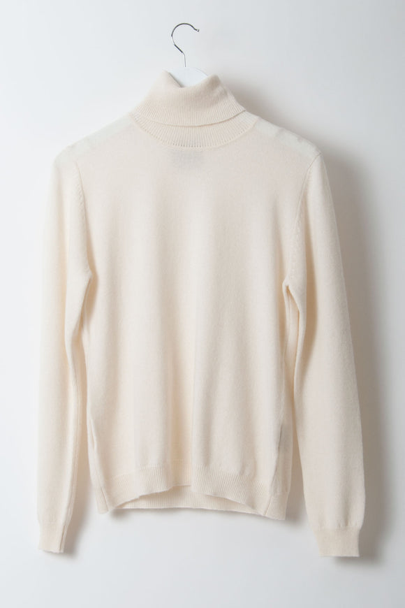 Jumper 1234 - Cashmere Cream Rollneck