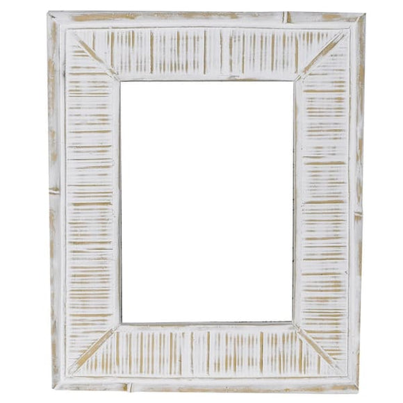 Coach House - Off-White Distressed Photo Frame