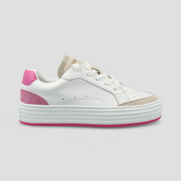 Philip Hog - Majken Trainers In White/Pink