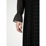 Just Female Philine Maxi Dress with Pleated Details