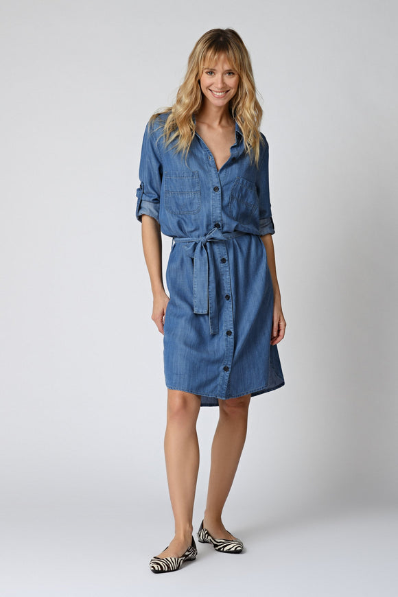 Five Jeans - Akila Dress In Blue