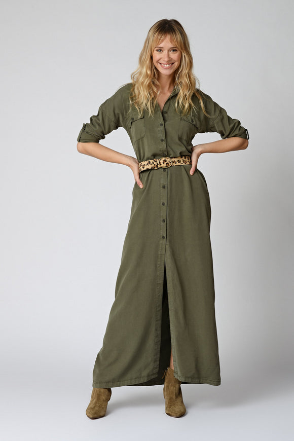 Five Jeans - Alona Dress In Khaki