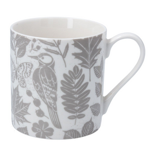 Gisela Graham - Bone China Mug (Grey)