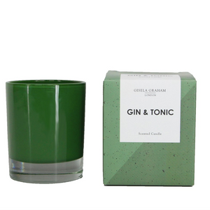 Gisela Graham - Boxed Scented Candle Gin & Tonic