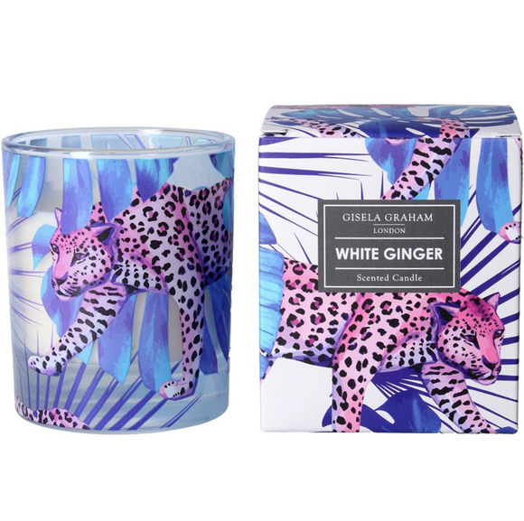 Gisela Graham - Boxed Scented Candle Leopard