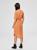 Selected Femme Caramel Everyday Midi Dress