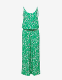 Selected Femme Bright Green Cinched Waist Jumpsuit