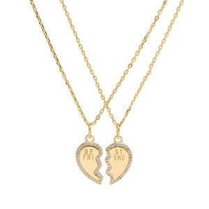 Sui Ava - BFF Heart Necklaces