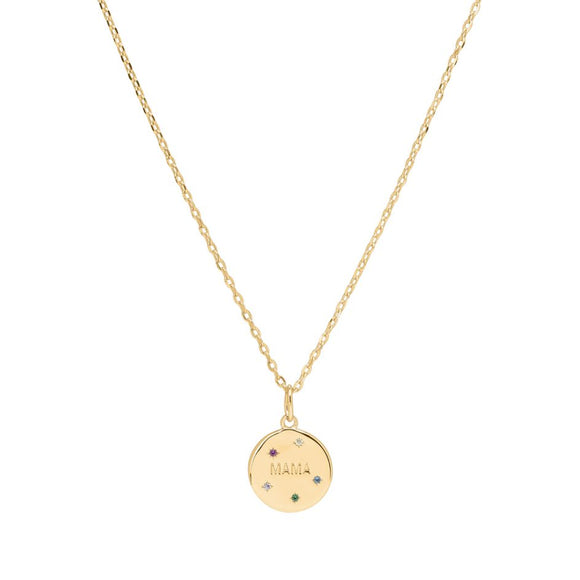 Sui Ava - Mama Necklace in Gold
