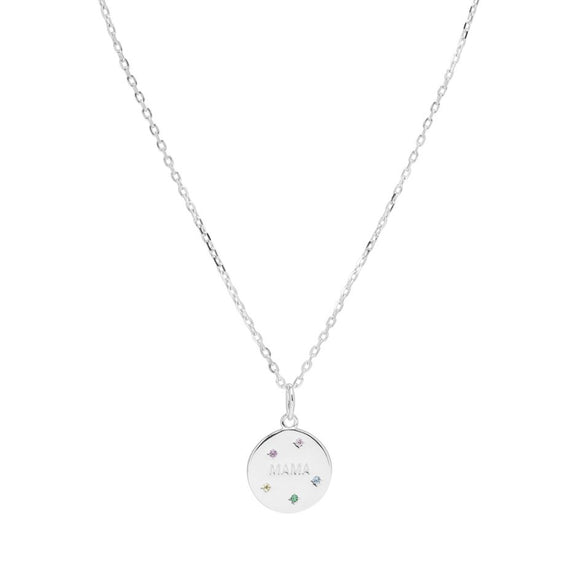 Sui Ava - Mama Necklace in Silver