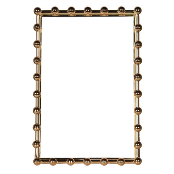 Coach House - Gold Beaded Photo Frame